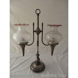 Lámpara de mesa 2 tulipas