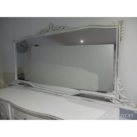 Espejo grande valenciano blanco envejesido