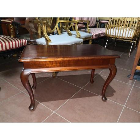 Mesa de madera restaurada