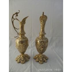 Jarrones de bronce