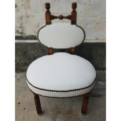 Mini silla tapizada