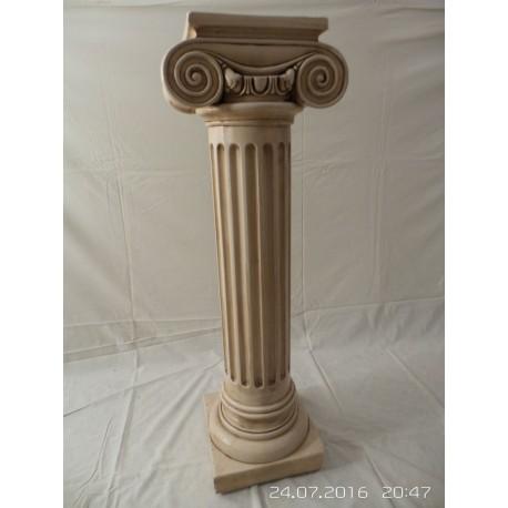 Columna decorativa de yeso