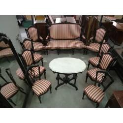 Conjunto de muebles Alfonsinos