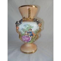 Jarrón de cerámica estilo inglés
